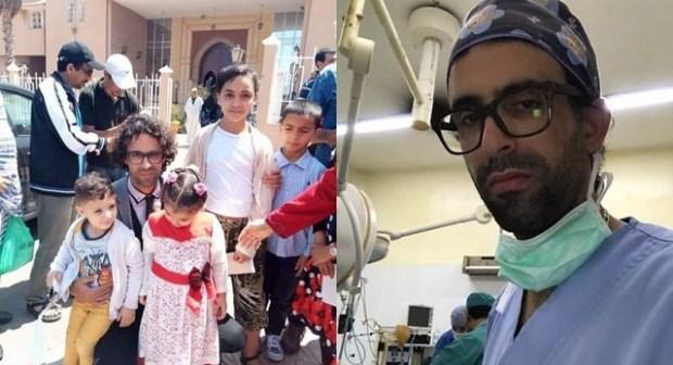 طبيب الفقراء ينقل إلى مصحة خاص بعد تدهور حالته، واحتجاجات عارمة تضامنا معه بتيزنيت