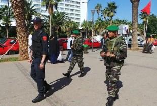 إصابة عنصر من فرقة حذر في تدخل لإنقاذ المواطنين بأكادير