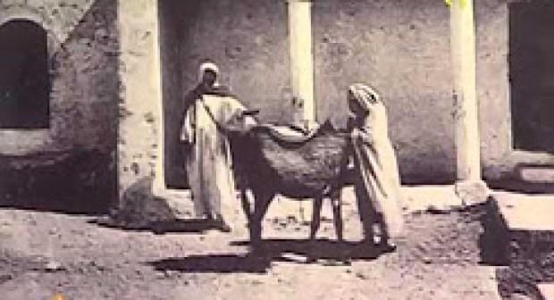 لـمحة تاريخـية عـن جـزء مـن مـدينة أكـادير.
