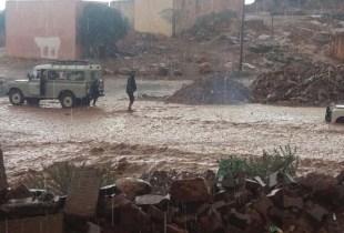 أمطار طوفانية تغرق سيدي إفني وتثير الهلع بين السكان