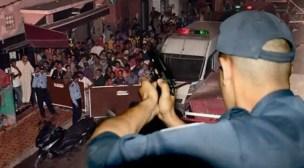 مواجهات قوية بين عناصر الشرطة و أفراد عصابة إجرامية خطيرة تنتهي بإطلاق الرصاص..