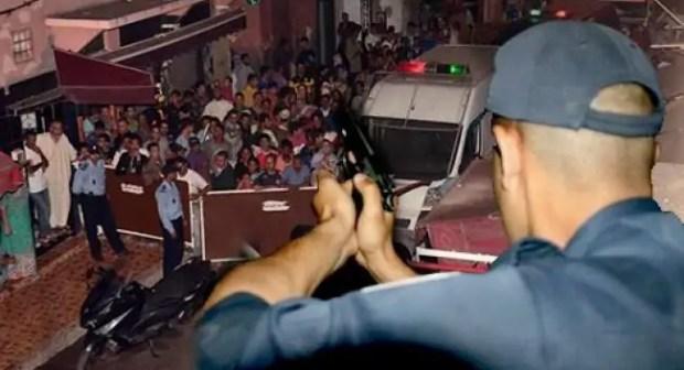 إشهار السلاح لتوقيف عصابة خطيرة أحدثت فوضى عارمة وسط مقهى تحت تأثير المخدرات.