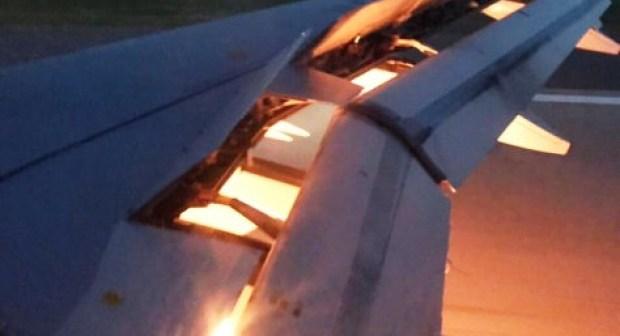 +فيديو:ركاب طائرة يعيشون أسوأ لحظات الرعب بعد عطل تقني مفاجىء بطانطان.