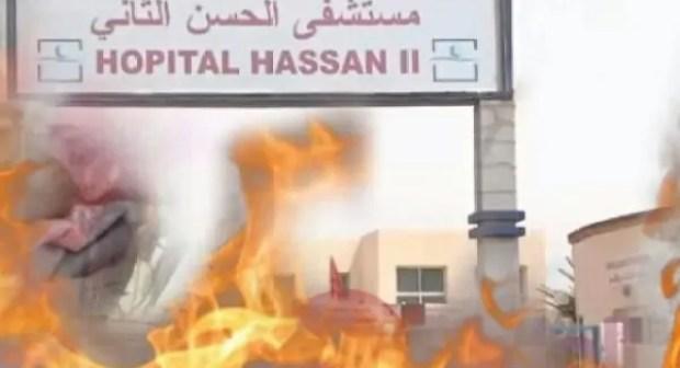 نجاة نساء حوامل من موت محقق إثر اندلاع حريق مهول بالجناح المخصص للنساء والتوليد بمستشفى الحسن الثاني.