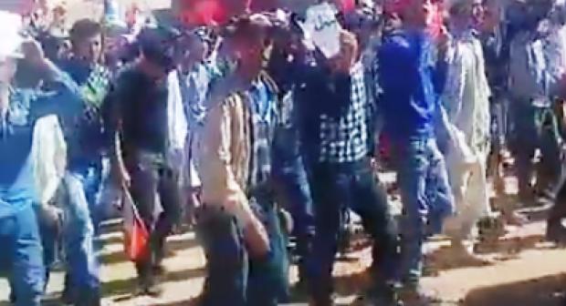 تارودانت: احتجاجات عارمة بتارودانت تنتهي بمسيرة باتجاه الجماعة.