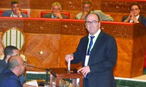 حكيم بنشماس رئيسا لمجلس المستشارين للمرة الثانية على التوالي