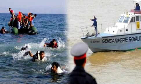 """العثور على 40 """"حرّاك"""" مغربي في حالة مزرية رفقة جثة في قارب فقد وِجهته منذ أسبوع"""