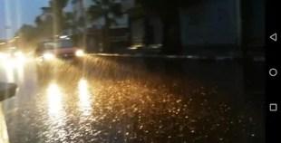 فيديو الأمطار الغزيرة التي تتهاطل بمدينة أگادير
