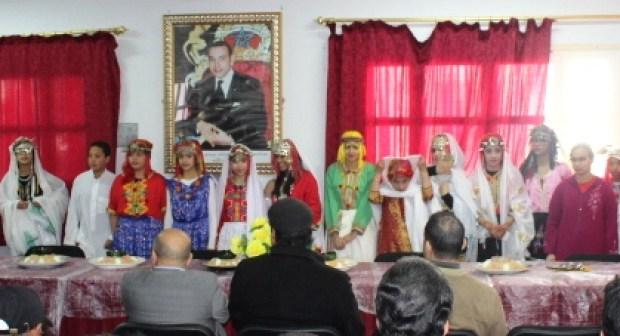 ثانوية علال الفاسي الإعدادية بالدشيرة –إنزكان-  تحتفي بالسنة الأمازيغية بطريقتها الخاصة…