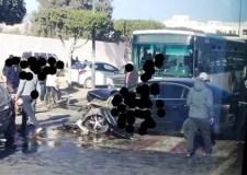 عااجل بالصور:حادثة سير غريبة الأطوار بقلب أكادير تخلف جرحى وخسائر مادية كبيرة.