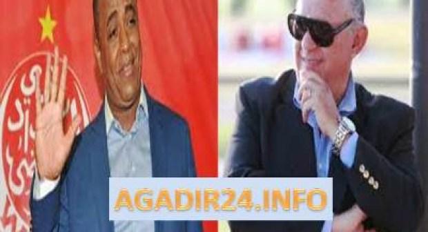 رئيس حسنية أكادير يهدد المكتب المسير للوداد البيضاوي.