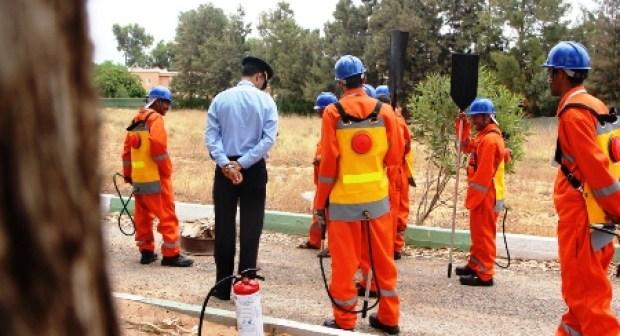 تدخل استعجالي لمتطوعين وسلطات ينتهي بإخماد حريق بأكادير كاد أن يعيد سيناريو 2014 .