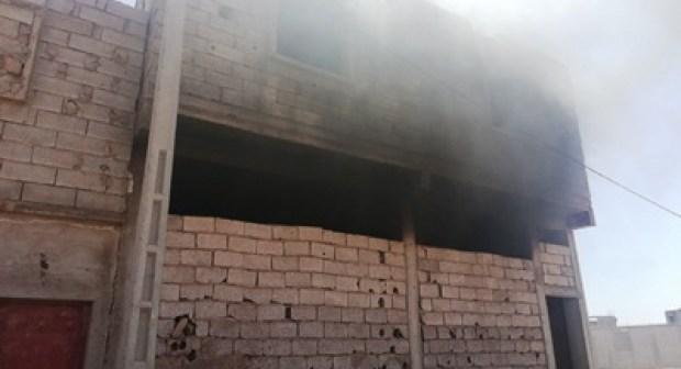 عاجل و بالصور: النيران تلتهم منزلا، و تحوله إلى رماد بأكادير