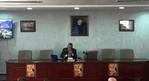أكادير: د.امحمد احدى يقارب  تاريخ الجنوب المغربي بجامعة ابن زهر.