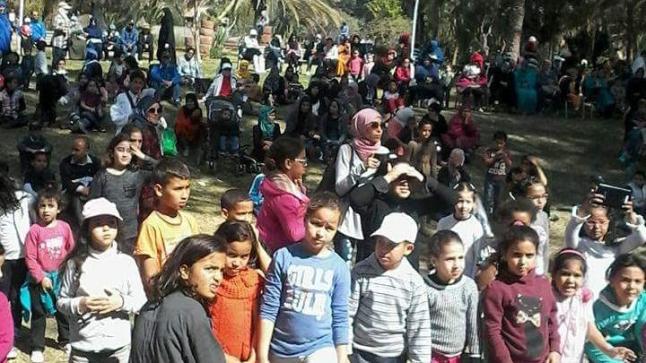"""زووم ماروك تنظم يوما ترفيهيا لفائدة الأطفال اليتامى بحديقة """"أولهاو"""""""