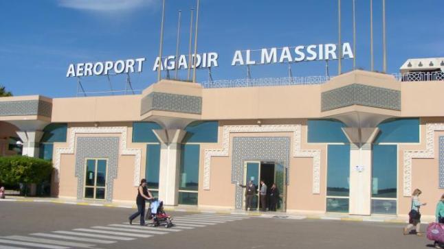 أزيد من 111 ألف مسافر استعملوا مطار المسيرة أكادير في مارس 2016