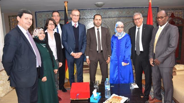 بلدية أكادير تستقبل السفير الألماني بالمغرب