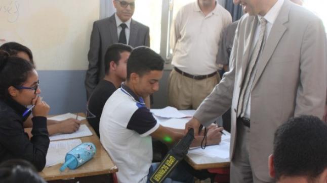 مصالح الأمن توقف العشرات من الغشاشين في الامتحانات الموحدة للباكالوريا