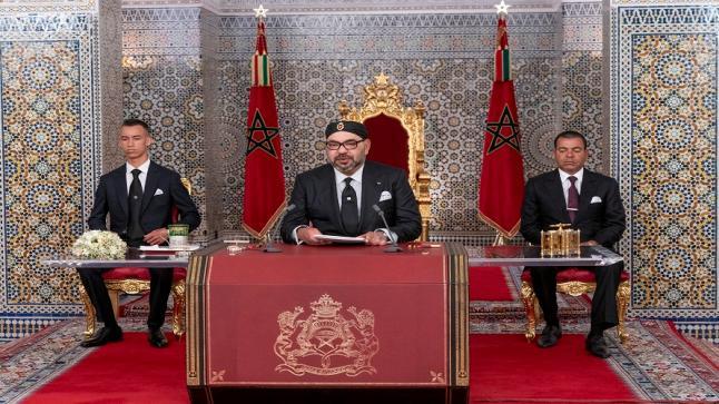 الملك: نجدد التزامنا الصادق بنهج اليد الممدودة تجاه أشقائنا في الجزائر