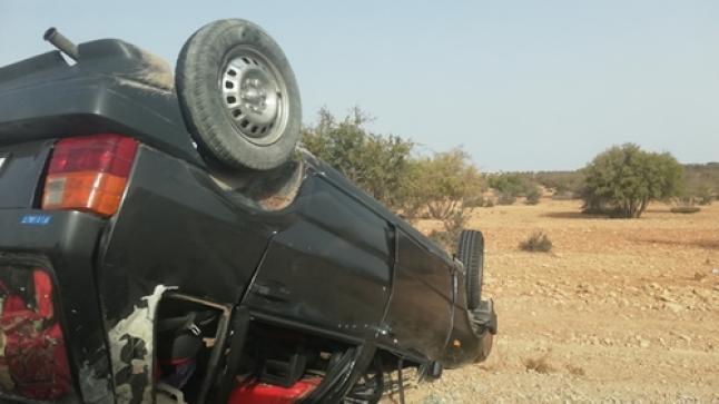 حادثة سير خطير بين أكادير والصويرة تخلف ضحايا