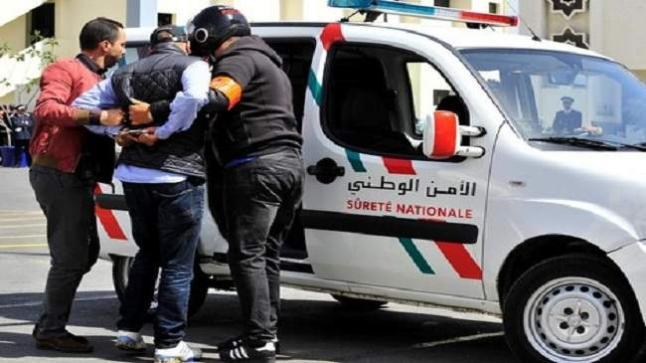 المصالح الأمنية توقف مروج للمخدرات بأكبر حي بأكادير