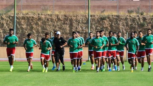 عموتة يستدعي 5 لاعبين من حسنية أكادير إلى قائمة المنتخب المحلي لمواجهة الجزائر