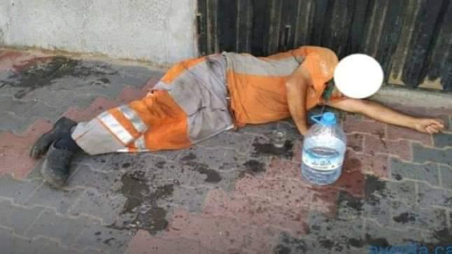 مصرع عامل نظافة بأولاد تايمة بعد سقوطه من شاحنة لجمع النفايات