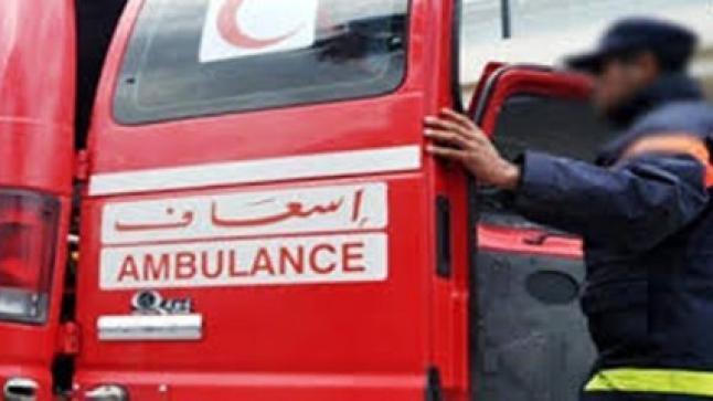 """مصرع سائق """"تريبورتور"""" في حادثة سير خطيرة شمال أكادير"""
