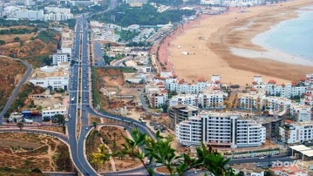 مشروع مخطط التهيئة الخاص بالقطب الحضري الجديد لأكادير يشمل مساحة 1200 هكتار