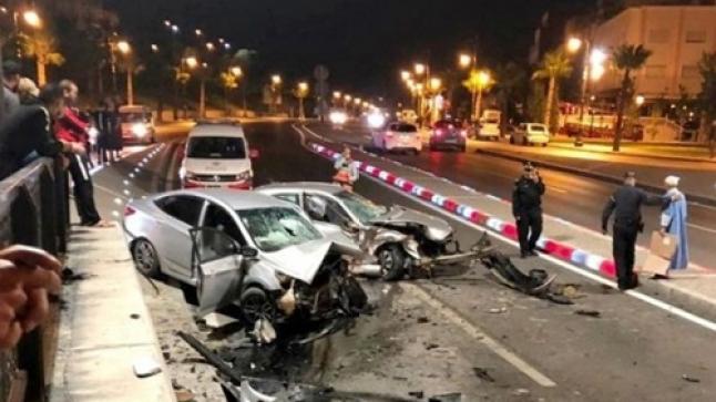 مصرع 13 شخصا وإصابة 1965 آخرين خلال أسبوع بالمغرب