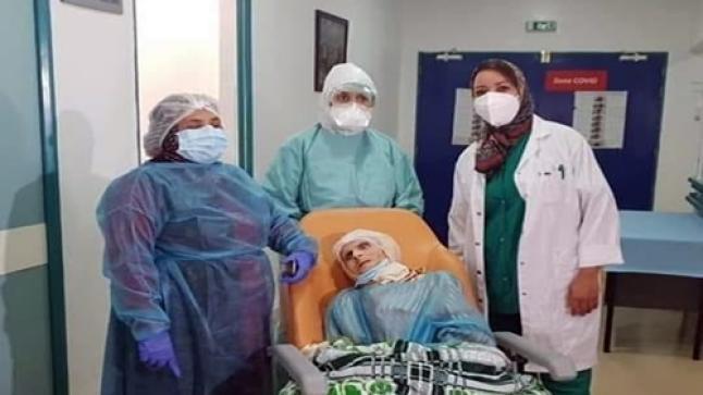 في عمر الـ110.. معمرة مغربية تهزم فيروس كورونا