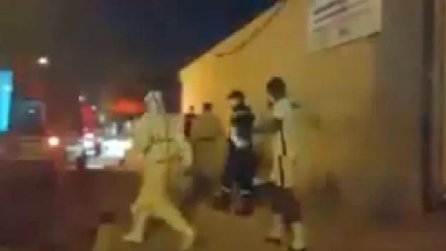 لاعب فريق من الدار البيضاء يتسبب في إصابة 7 أشخاص بفيروس كورونا بأيت ملول