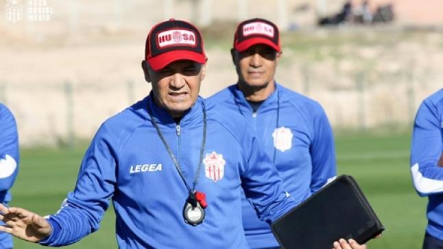 رئيس حسنية أكادير لا يفكر في تحقيق الألقاب مع المدرب الجديد !