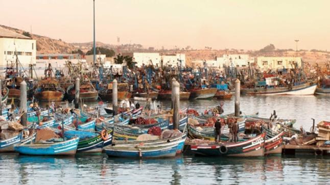تسليم مجموعة من التجهيزات لفائدة بعض تعاونيات الصيد البحري بسوس ماسة