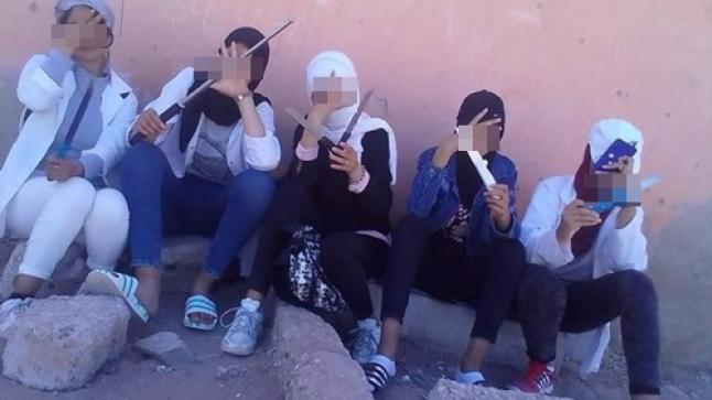 """هذا ما قررته المحكمة بشأن تلميذات """" فيديو الأسلحة البيضاء """" باشتوكة"""