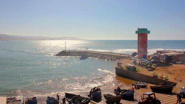 أكادير .. دراسة تصميم تهيئة مركز إمسوان الشاطئ (صورة)