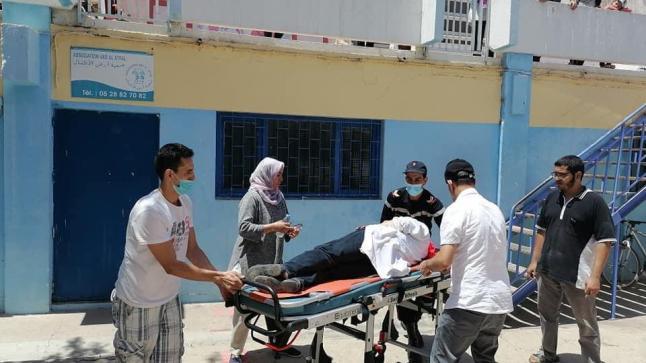 اغماءات في تدخل القوة العمومية لإفراغ مقر جمعيتي حماية ورعاية الصم وأرض الأطفال بأكادير (صور)