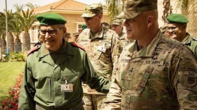 """أكادير .. تزامنا مع مناورات """"الأسد الافريقي"""" القوات الأمريكية تحتفي بذكرى تأسيسها"""