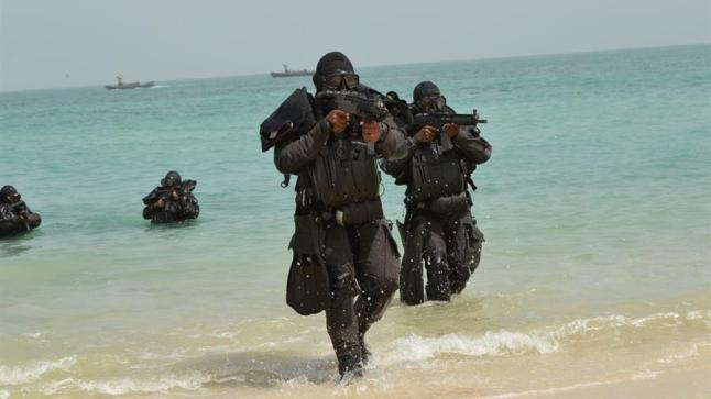 """القوات البحرية الملكية تشارك في مناورات """"نسيم البحر"""" بأوكرانيا"""