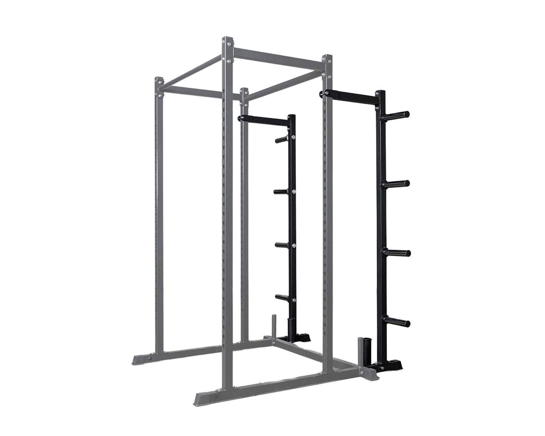 evolution standard power rack weight storage extension