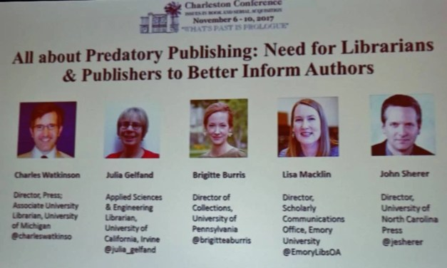 All About Predatory Publishing