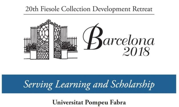2018 Fiesole Collection Development Retreat