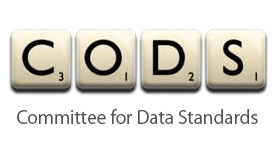 CoDS Committee for Data Standards