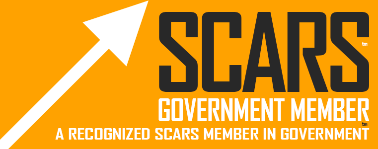 SCARS - Society of Citizens Against Romance Scams - Government Membership Badge