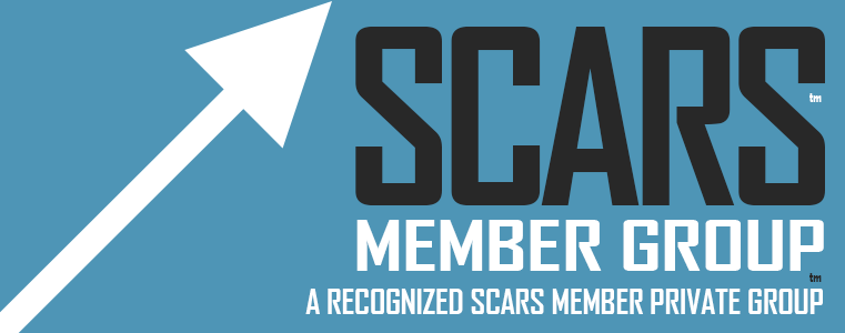 SCARS - Society of Citizens Against Romance Scams - Group Membership Badge