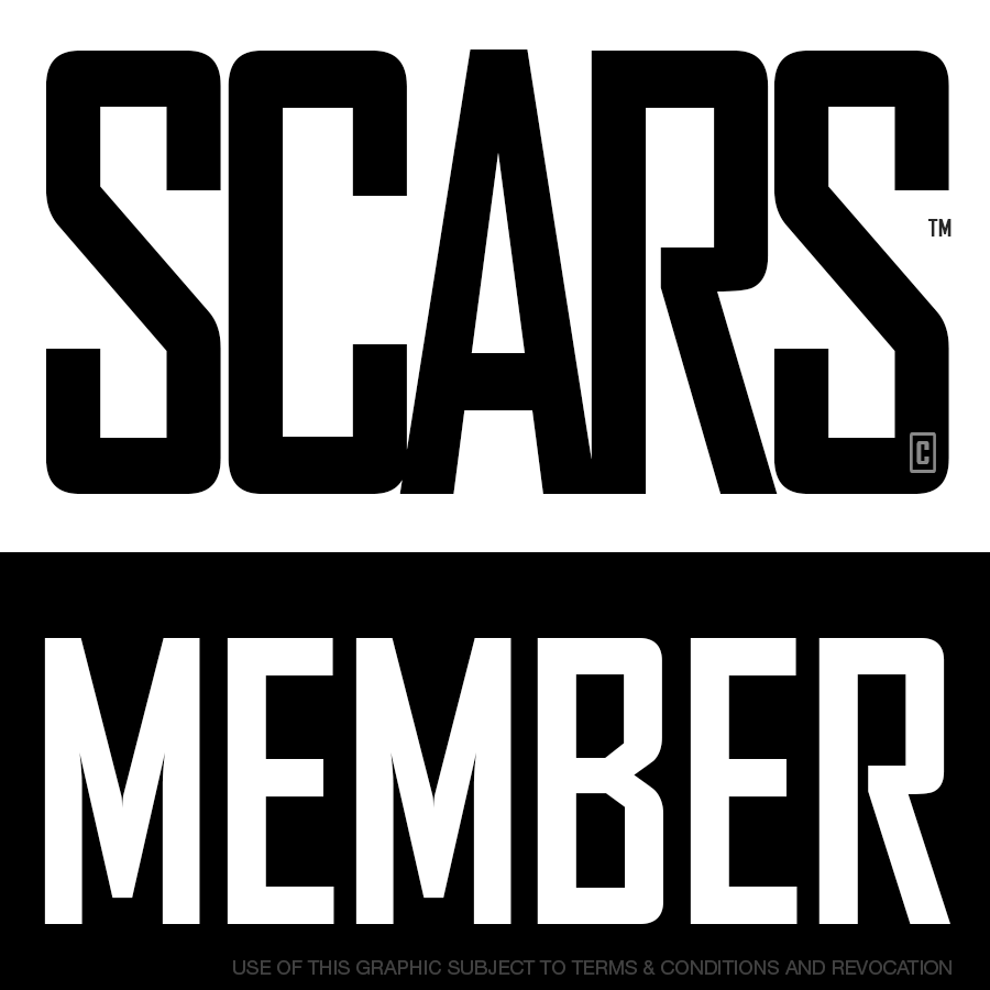 SCARS - Society of Citizens Against Romance Scams - Membership Badge
