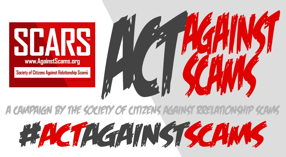 SCARS #ActAgainstScams Campaign