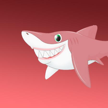 Scammer Shark by Jackie Corbett