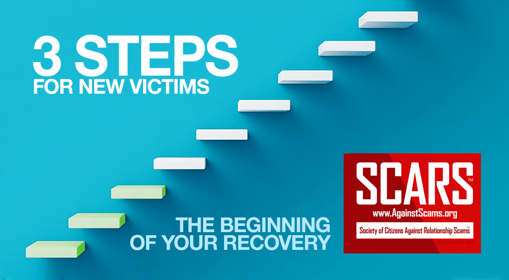 SCARS 3 Steps For New Victims
