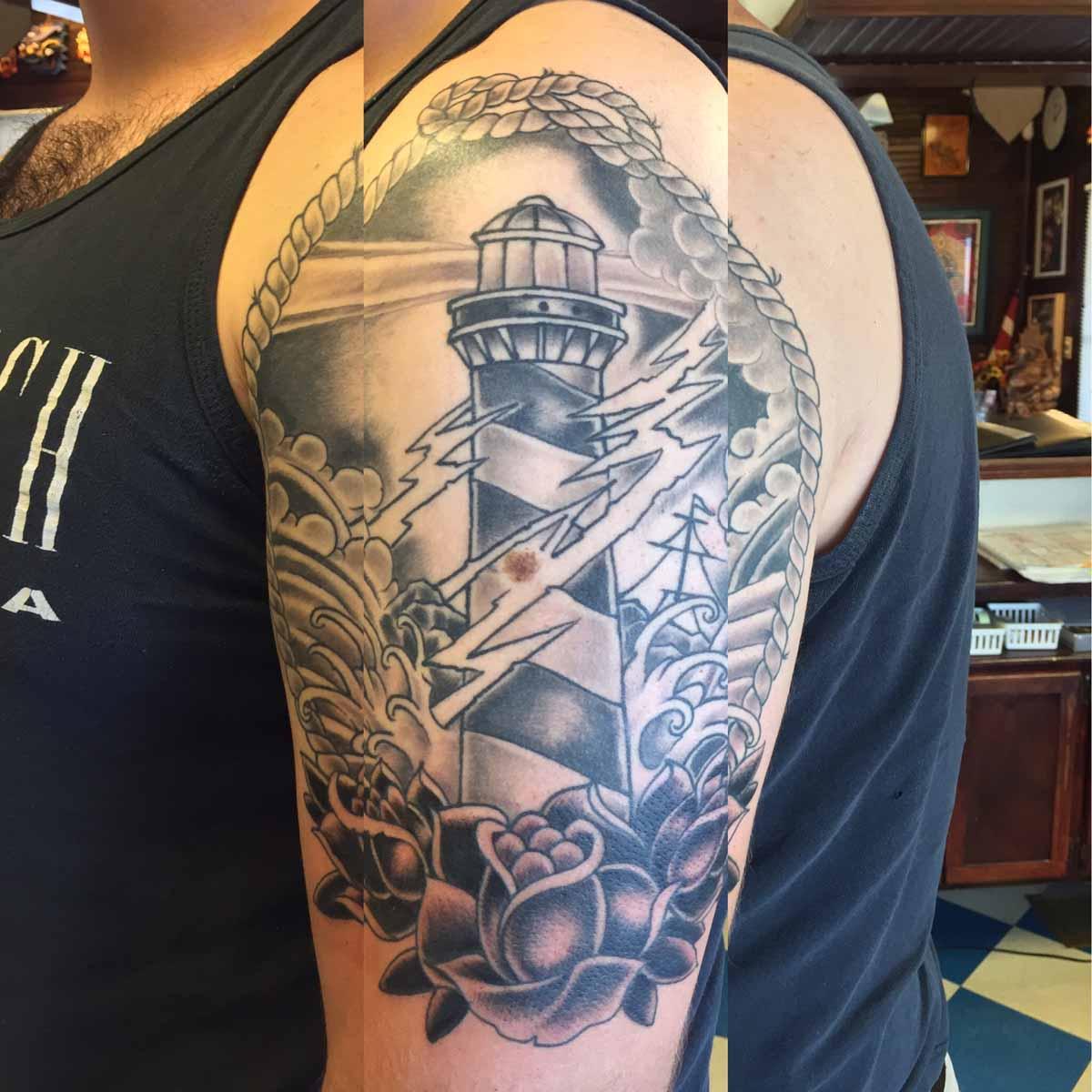 Tattoo Artist Alex Wilson Against The Grain Tattoo